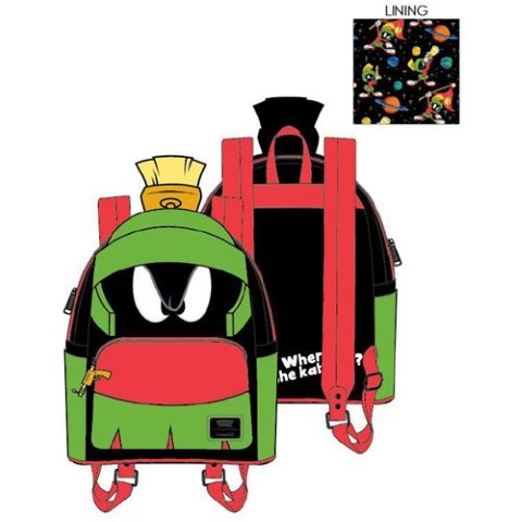 PREORDER  Marvin the Martian Cosplay Mini Backpack