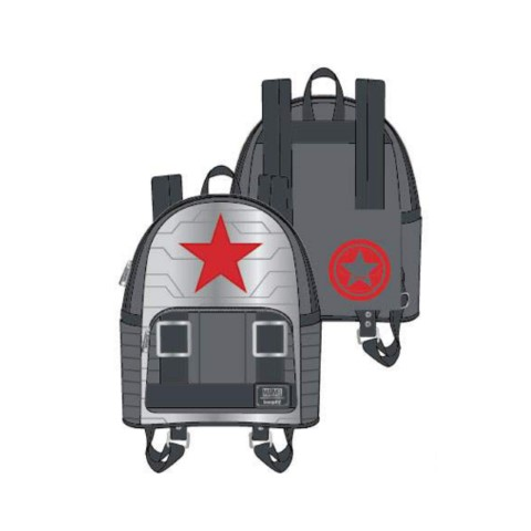 Marvel Winter Soldier Cosplay Mini Backpack