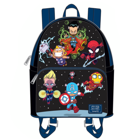 PREORDER Marvel Sy Chibi Group Mini Backpack