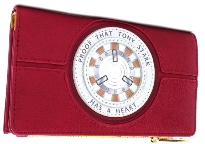 Iron Man Heart Wallet