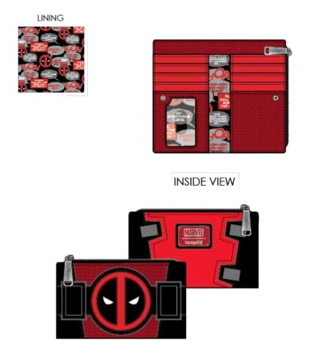 Deadpool Merc with a Mouth Wallet