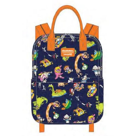 PREORDER  Nickelodeon Retro Characters Backpack