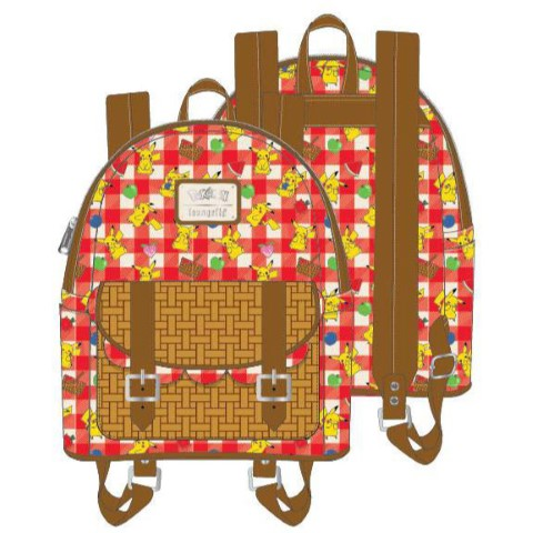 PREORDER Pikachu Picnic Basket Mini Backpack