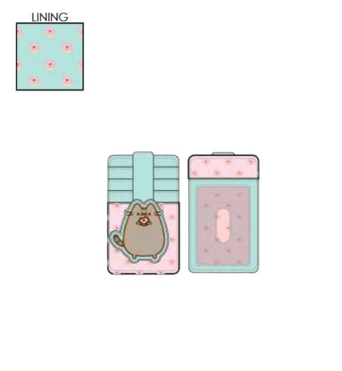 Pusheen Big Kitty Donuts Card Holder