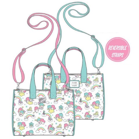PREORDER Sanrio Little Twin Stars Rainbow Crossbody Bag