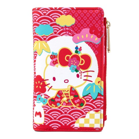 Sanrio 60th Anniversary Hello Kitty Flap Wallet