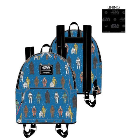 PREORDER Star Wars Action Figures AOP Mini Backpack