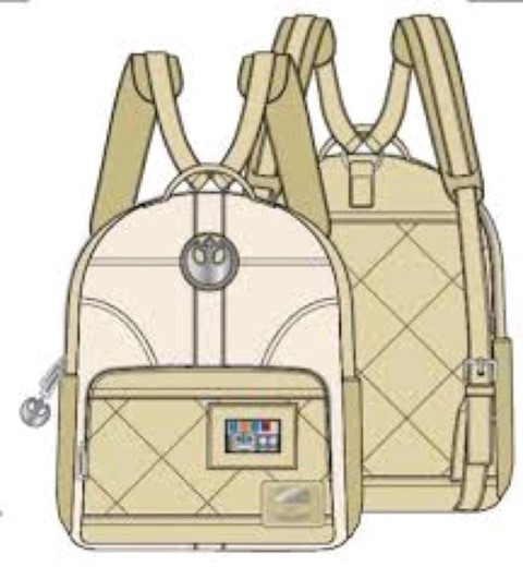 Princess Leia Hoth Cosplay Mini Backpack