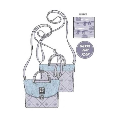 Hoth ESB 40th Anniversary Faux Fur Crossbody Bag