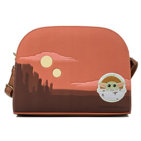 Mandalorian Child Cradle Scene Crossbody Bag