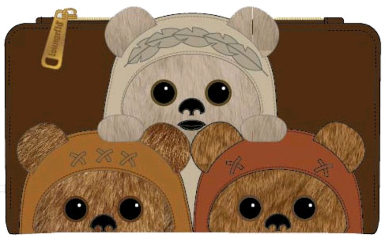 Ewok Trio Wallet