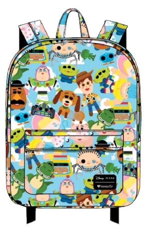 Toy Story Chibi Print Backpack