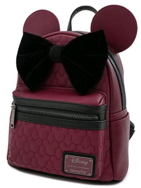 Mickey Mouse Brown w Bow & Ears Mini Backpack