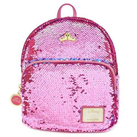 Sleeping Beauty Reversible Sequin Mini Backpack