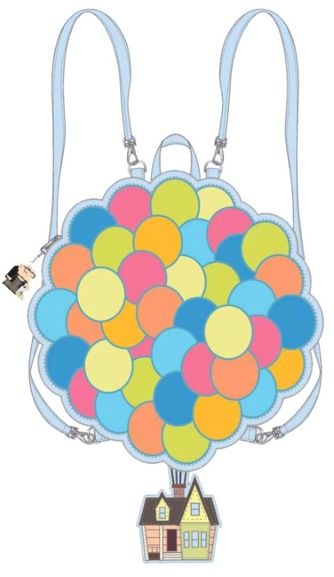 Up Balloon House Convertible Mini Backpack
