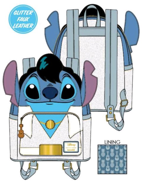 Stitch Elvis Mini Backpack