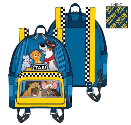 Oliver & Company Taxi Ride Mini Backpack