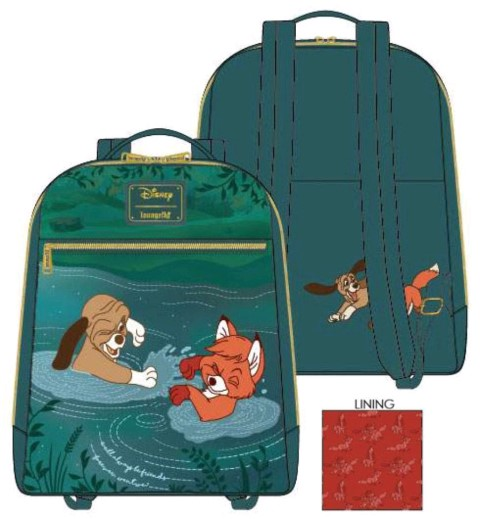 Fox & The Hound Water Fight Mini Backpack