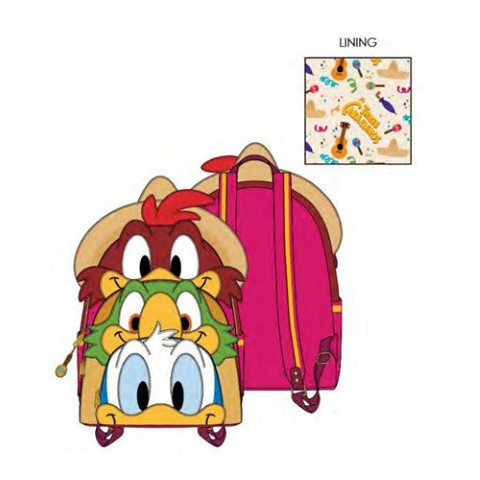 PREORDER  The Three Caballeros Backpack
