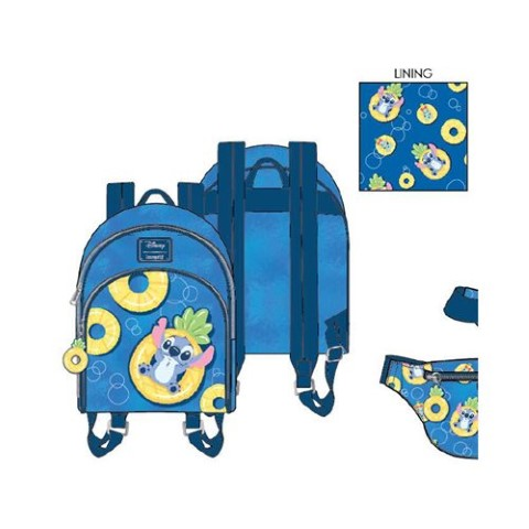 PREORDER  Stitch Pineapple Floaty Mini Backpack