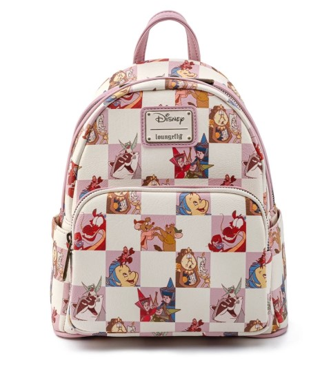 Disney Best Friends Characters Rose Checker Mini Backpack
