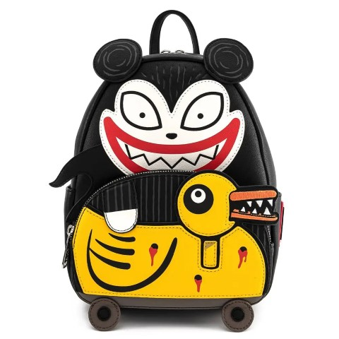 Nightmare Before Christmas Scary Teddy & Undead Duck Mini Backpack