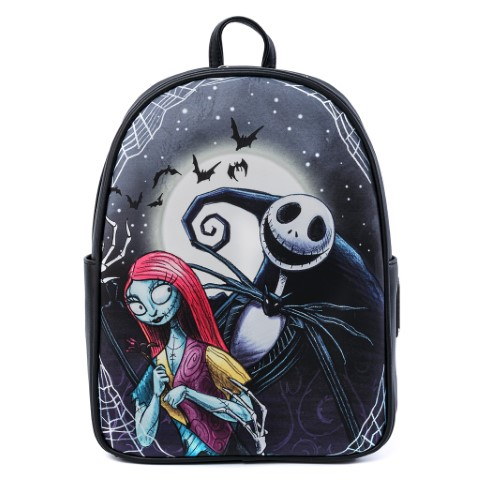Nightmare Before Christmas Jack & Sally Simply Meant To Be Mini Backpack