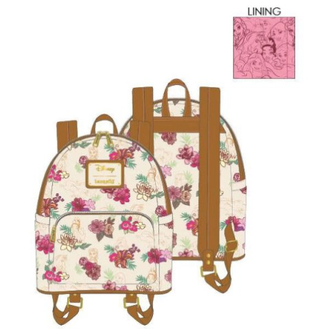 PREORDER Disney Princess Floral Mini Backpack