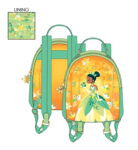Princess and The Frog Tiana Mini Backpack