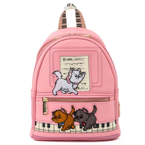 Aristocats Piano Kitties Mini Backpack