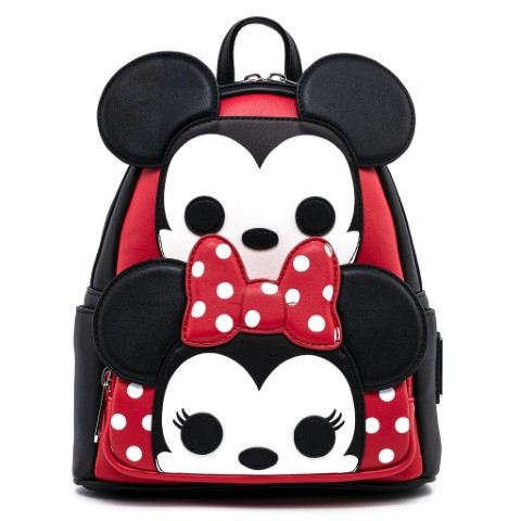 Mickey and Minnie Cosplay Mini Backpack