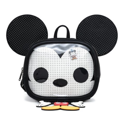 Mickey Mouse Pin Trader Cosplay Mini Backpack