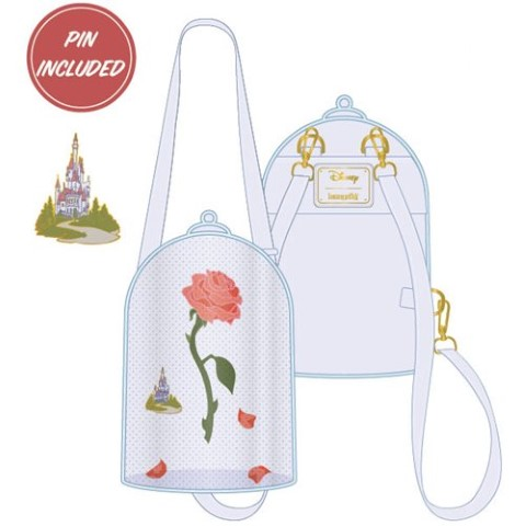 PREORDER Beauty and The Beast Pin Trader Convertible Backpack