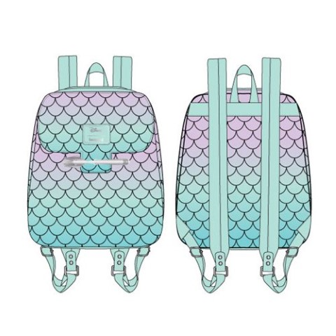 PREORDER Little Mermaid Ombre Scales Mini Backpack