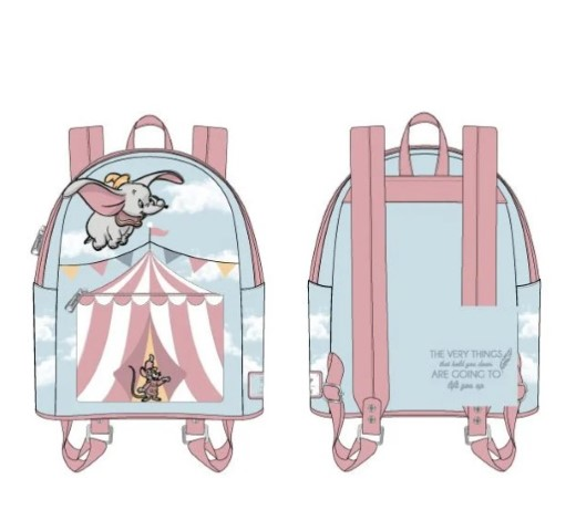 PREORDER Dumbo Flying Circus Tent Mini Backpack
