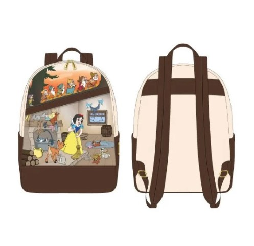 PREORDER Snow White Multiscene Mini Backpack