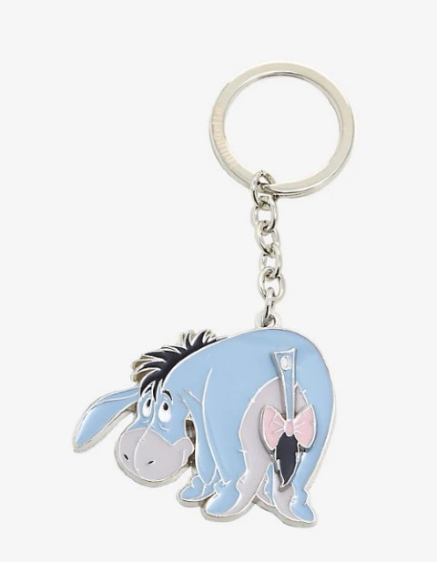 Eeyore Movable Tail Keychain