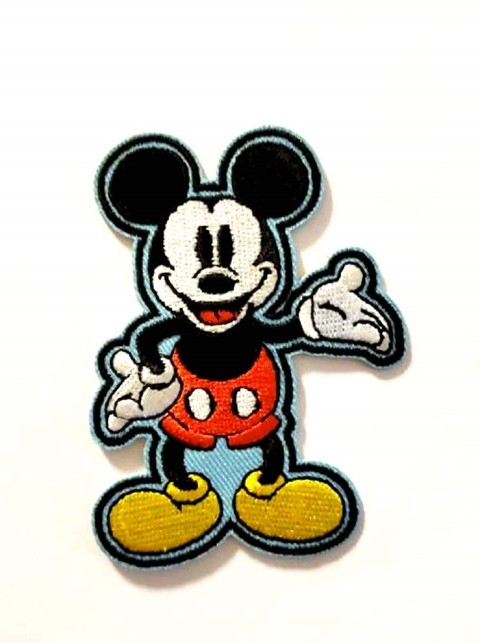 Mickey Iron On Patch