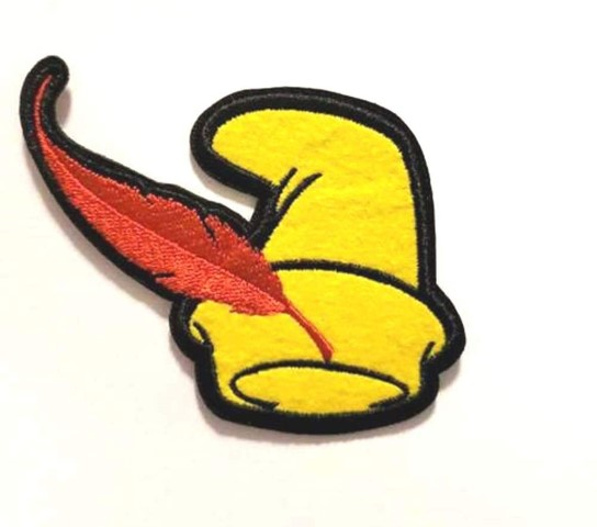 Pinocchio Hat Iron On Patch