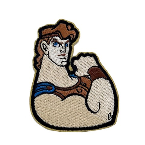 Hercules Iron On Patch