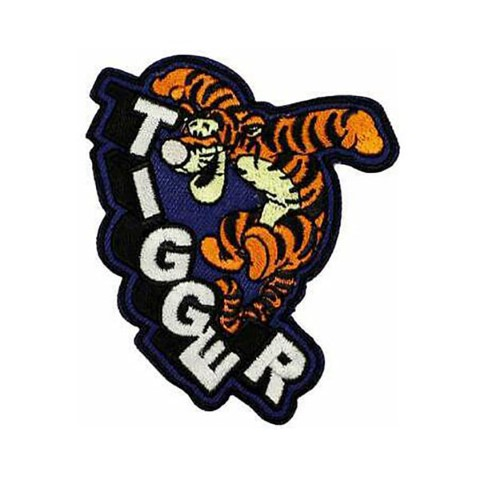 Tigger Iron On Patch