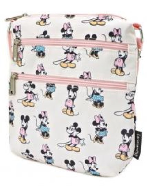 Mickey & Minnie Pastel Passport Bag