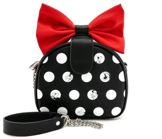Minnie Big Red Bow Crossbody Bag
