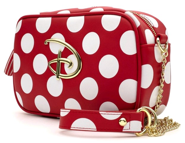 Disney Polka Dot Logo Crossbody Bag