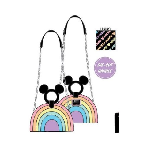 PREORDER  Mickey Mouse Rainbow Crossbody