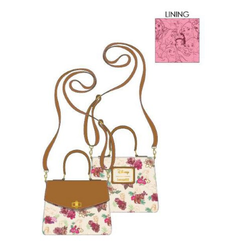PREORDER Disney Princess Floral Crossbody Bag