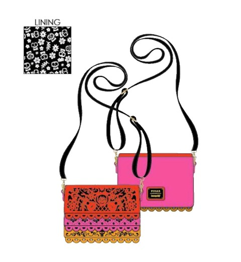Coco Diecut Party Flags Crossbody Bag