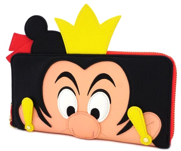 Queen of Hearts Zip Purse