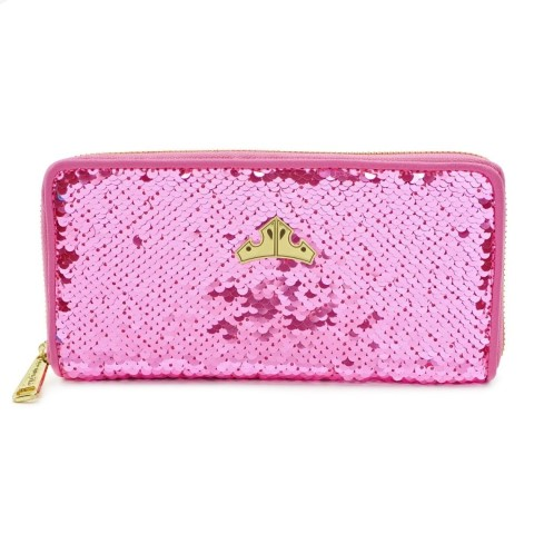 Sleeping Beauty Reversible Sequin Wallet