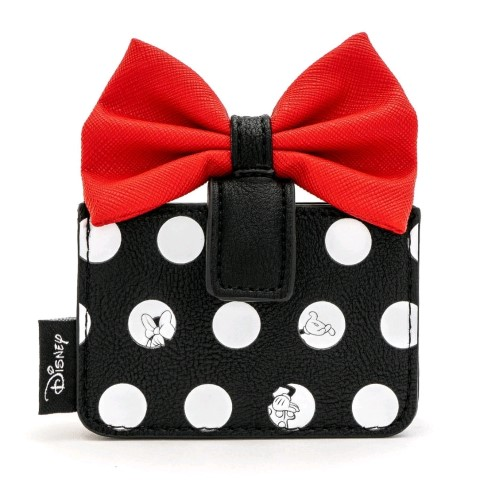 Minnie Big Red Bow Card Holder
